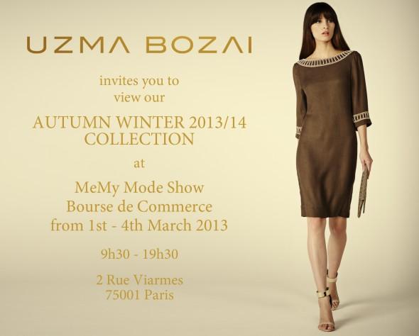 MeMy Mode Paris invite