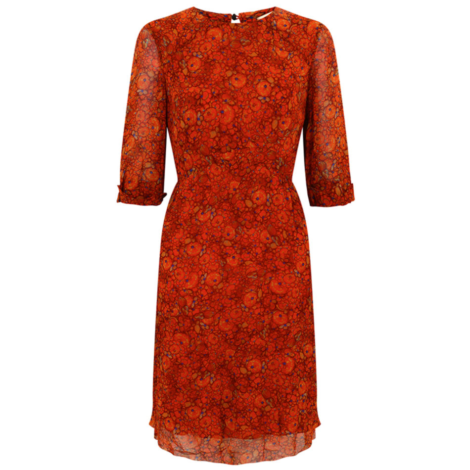 Miriam Dress, Orange
