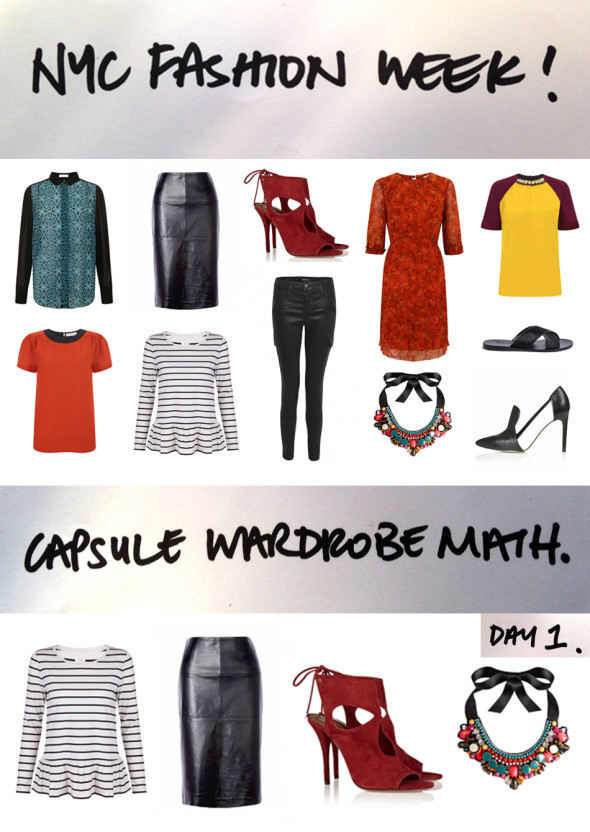 NYFW: fashion week style in a suitcase!