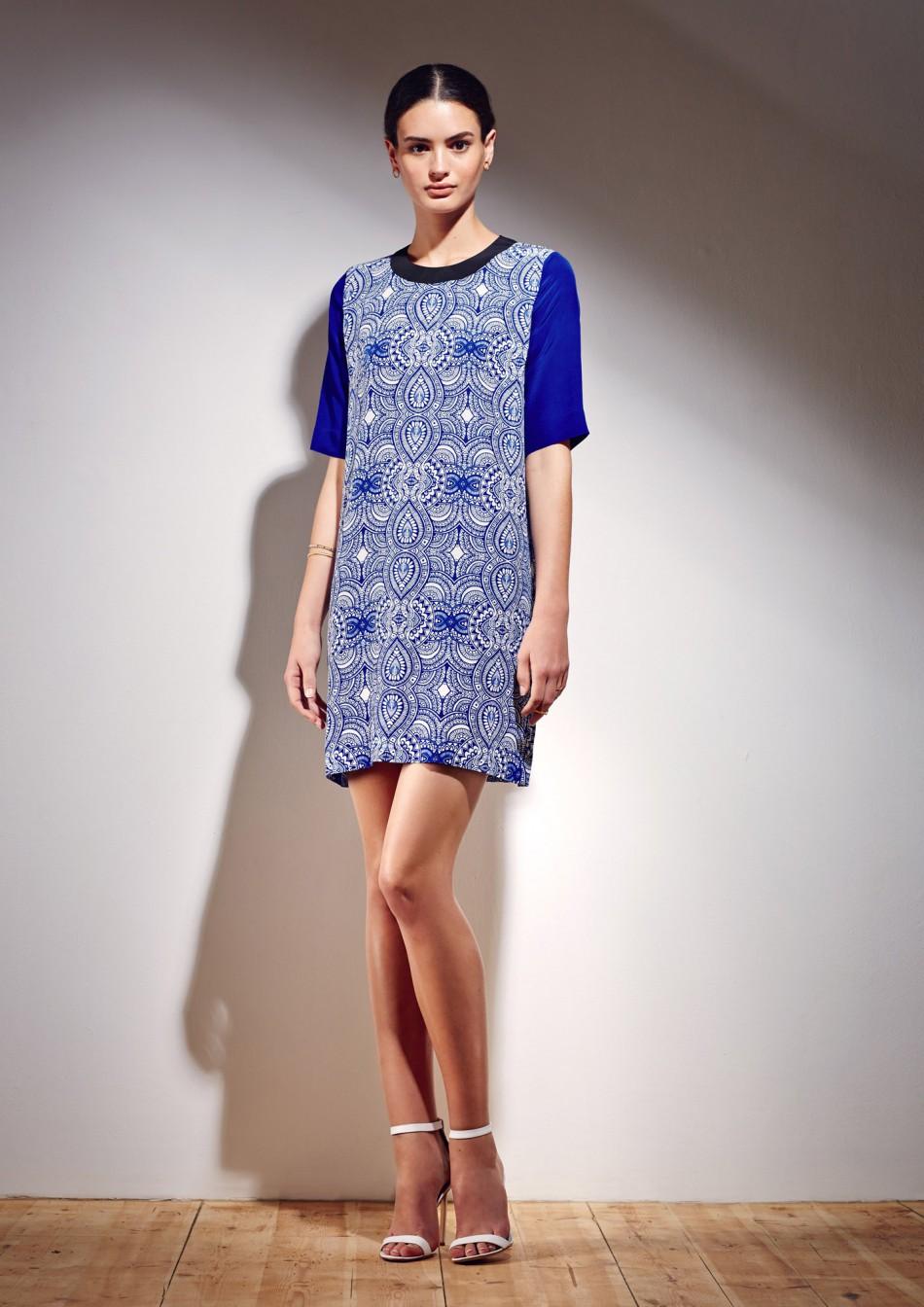 Mehindi Shift Dress
