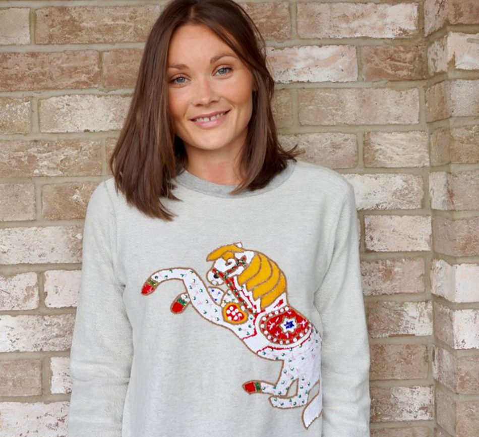 Horse Sweatshirt – Mini & Me