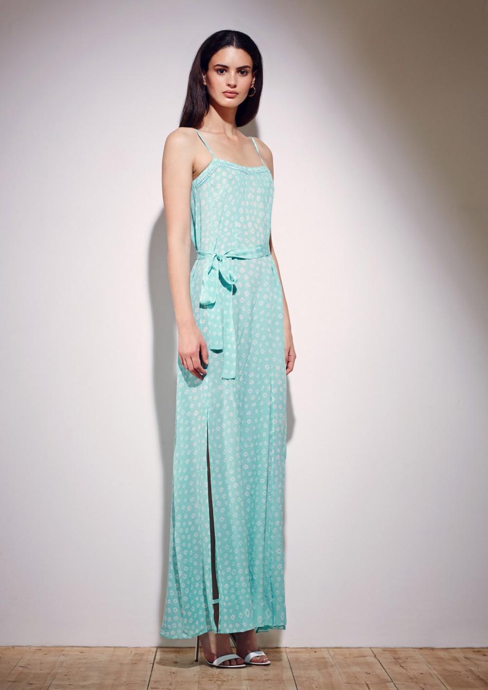 Mona Maxi Dress – Aqua