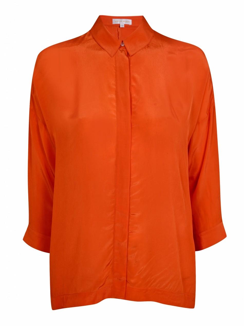 Malih Shirt - Flame Viscose