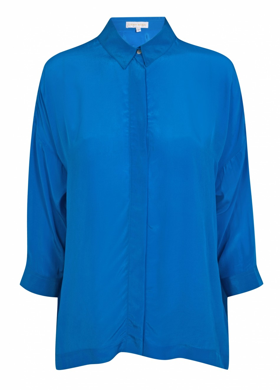 Malih Shirt - Turquoise Viscose