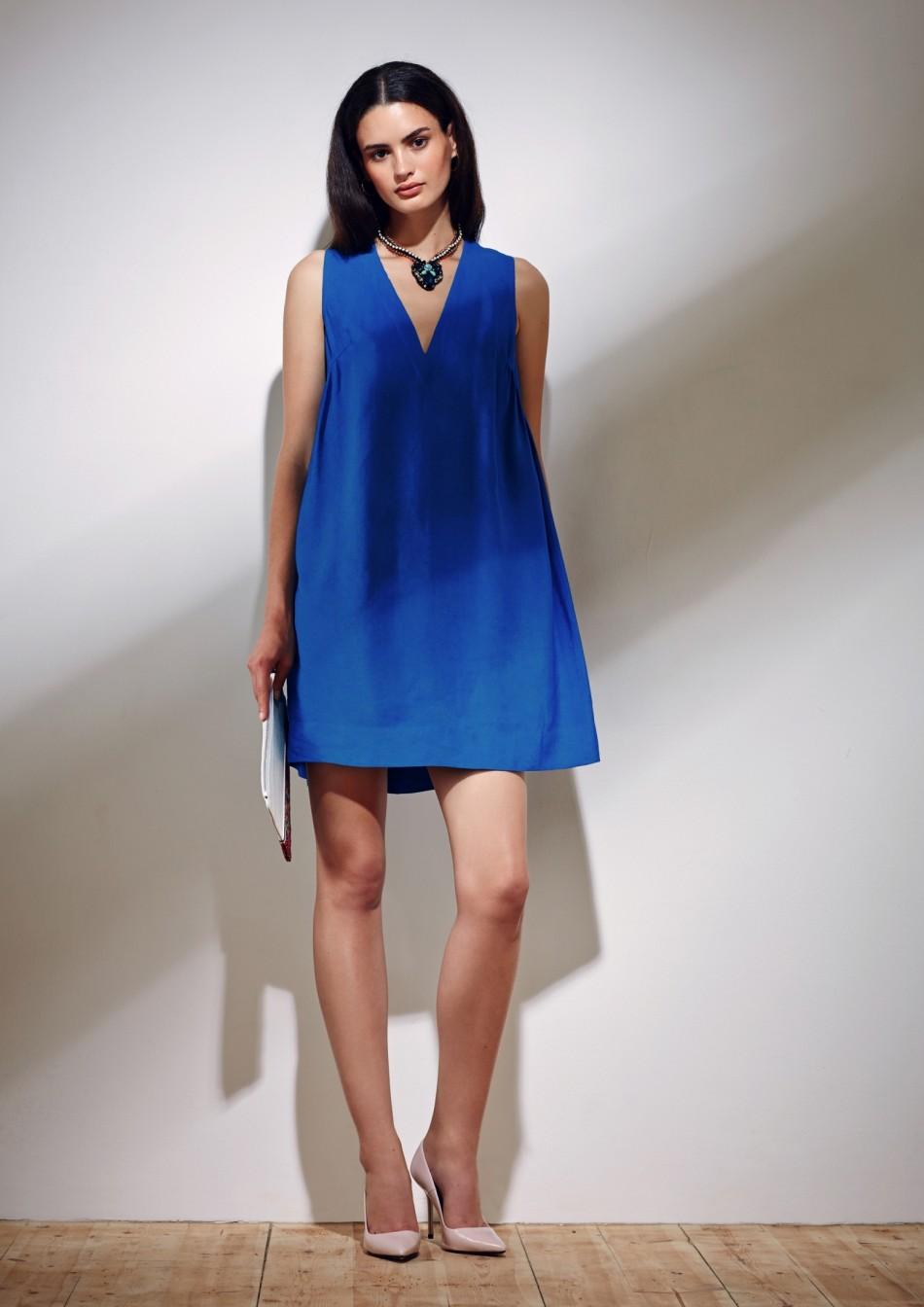 Novin Dress – Electric Blue