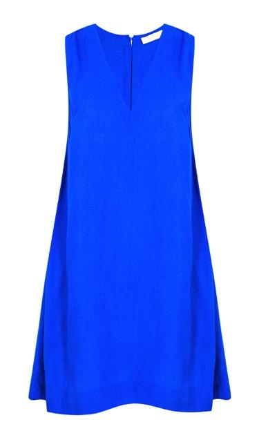 Novin Dress - Electric Blue Viscose