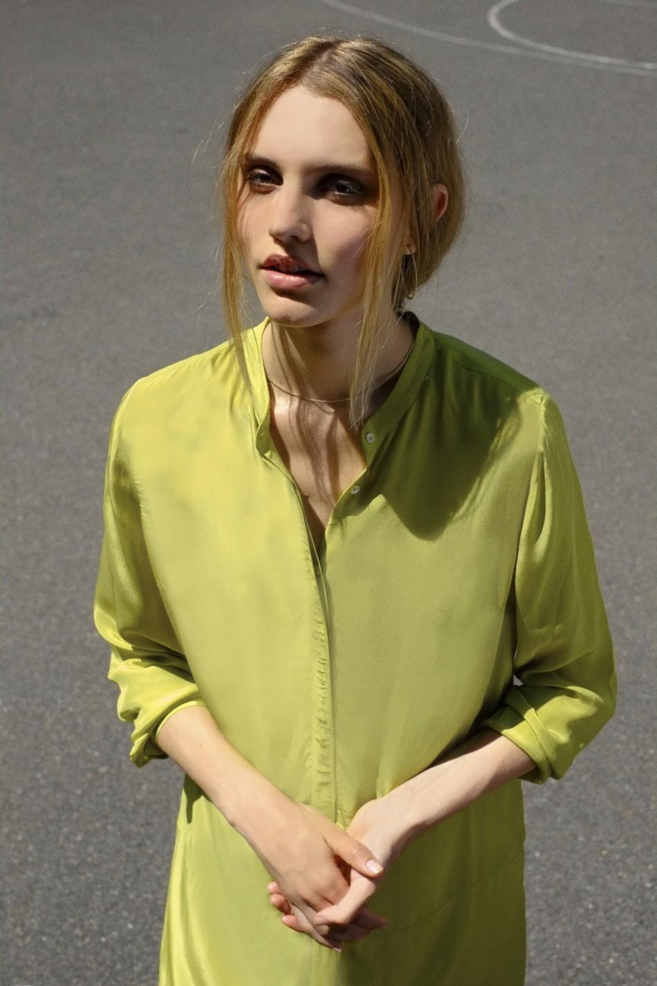 Ash Shirt Dress