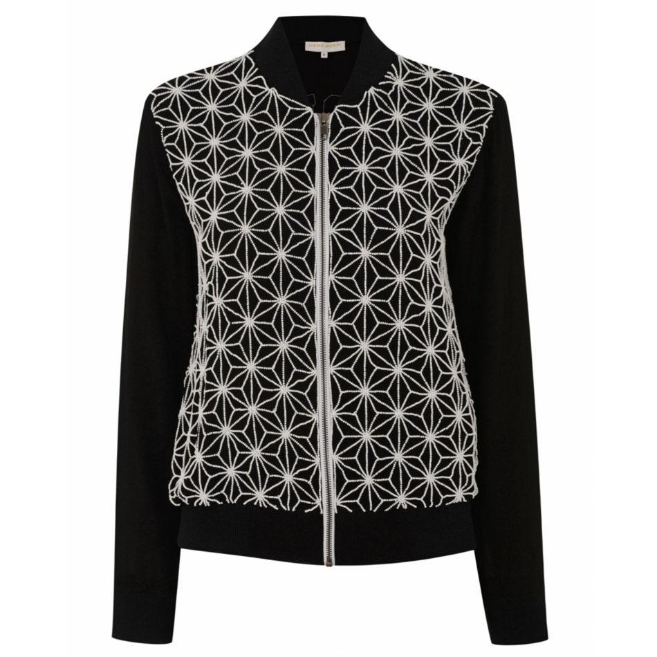 Ester Jacket Black and White