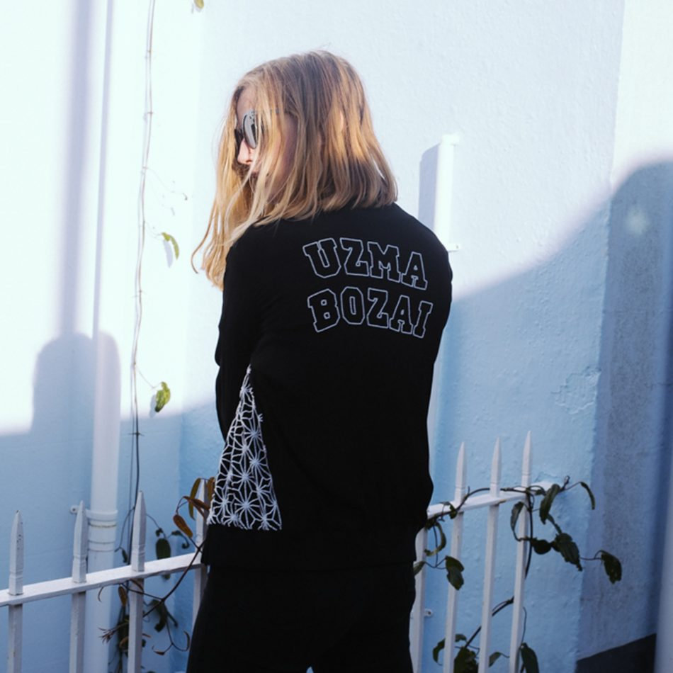 Personalised Ester Jacket Black and White