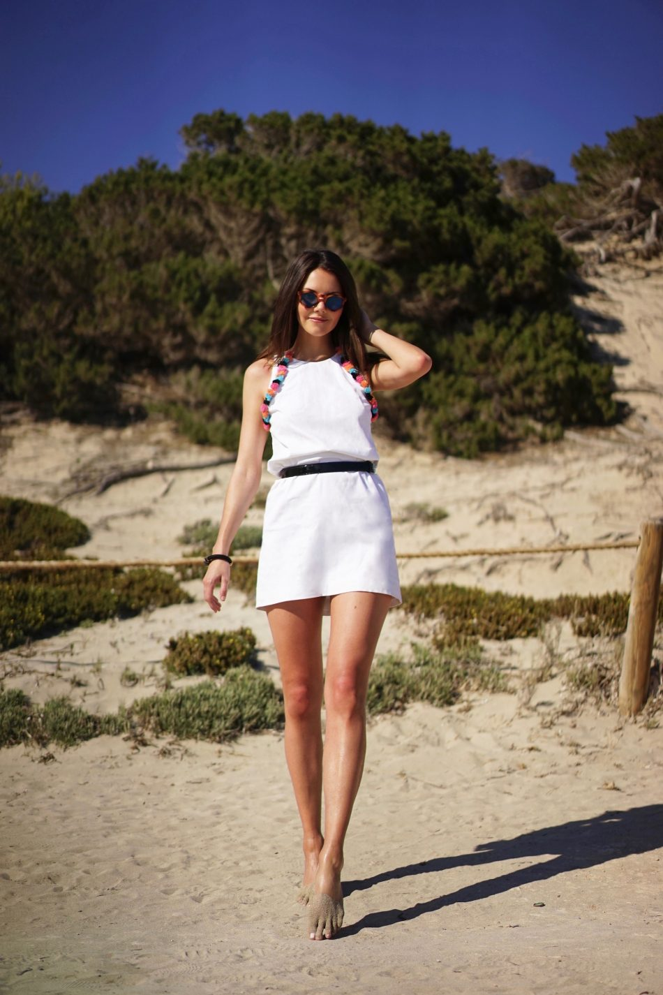 Yoko Dress – White