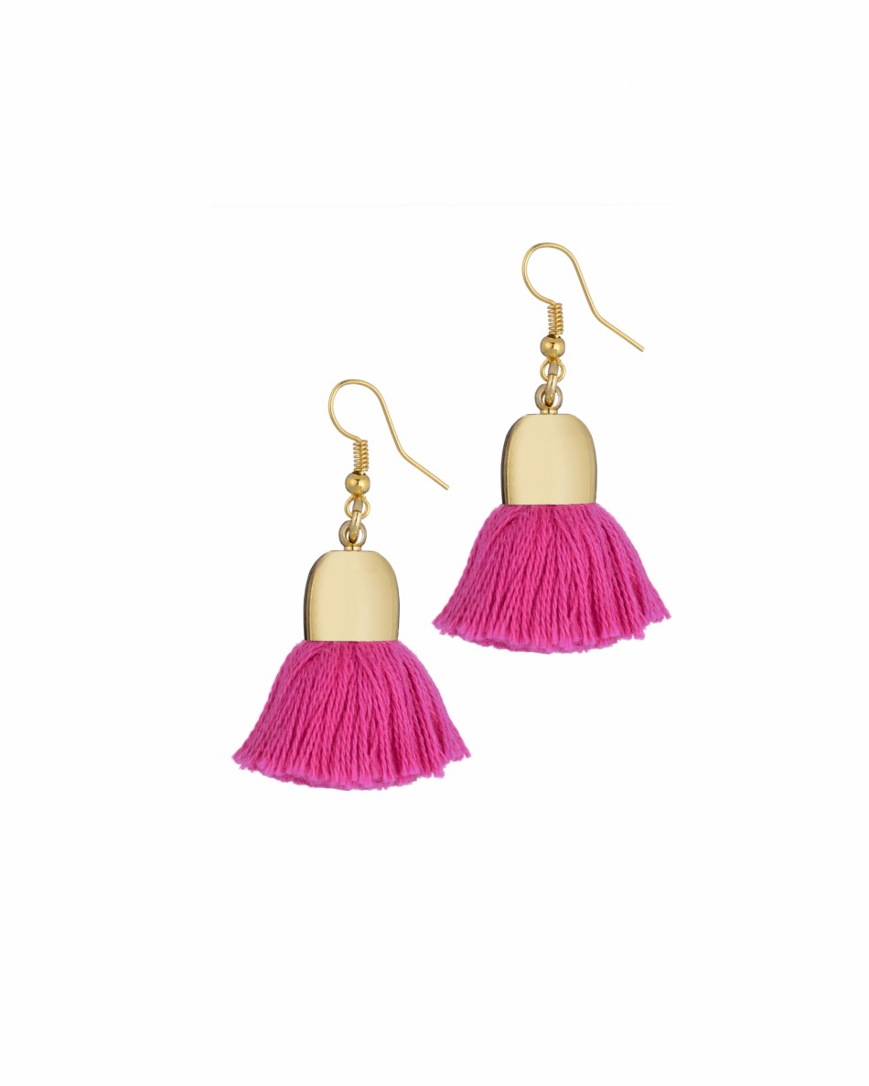 Ami Earrings, Pink