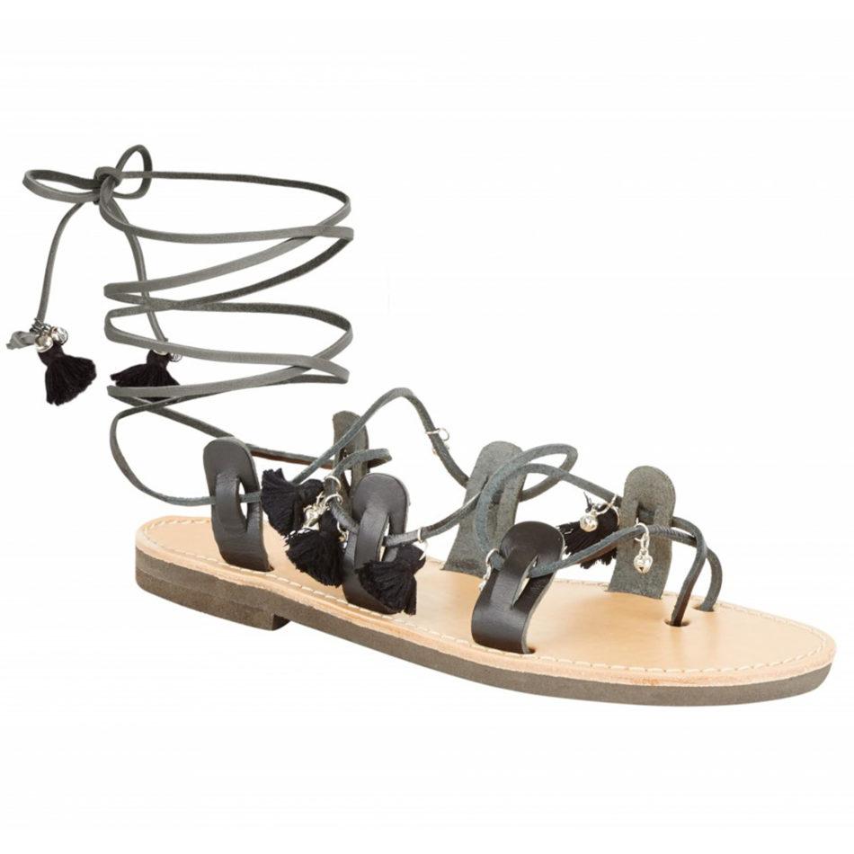 Mati Sandals - Black/Black