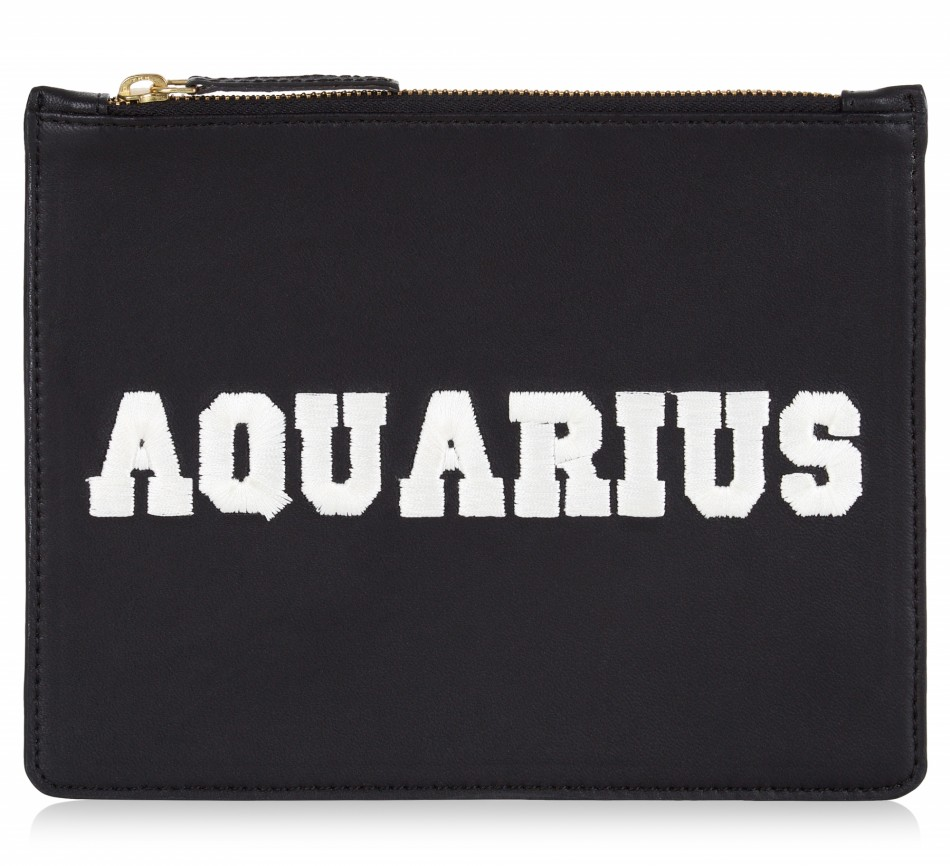 ZODIAC POUCH - AQUARIUS