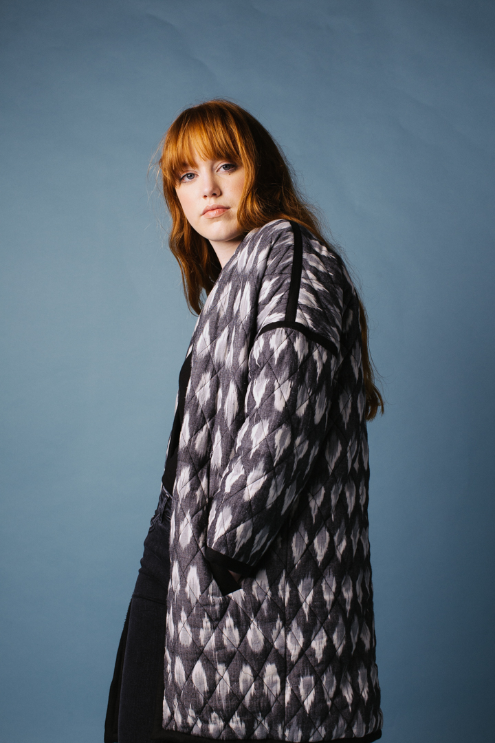 Quilted Tola Coat