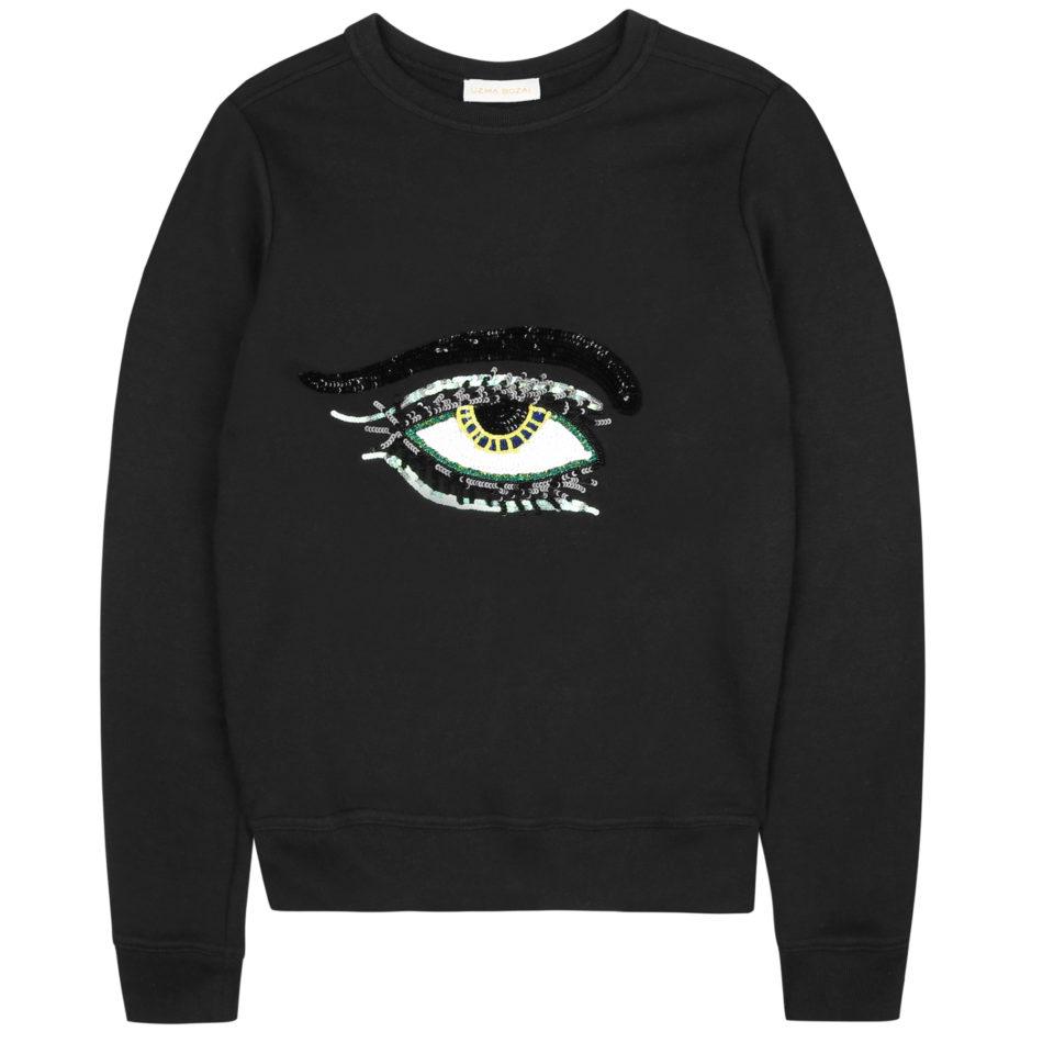 Eye Sweatshirt - Black