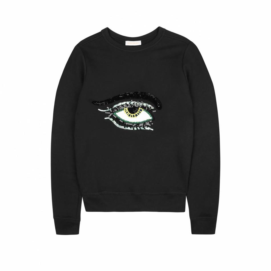 Eye Sweatshirt – Black