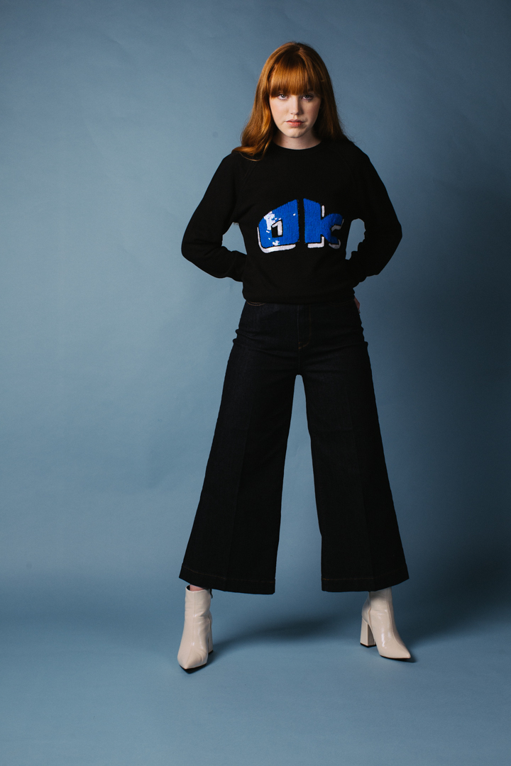 OK Sweatshirt – Black