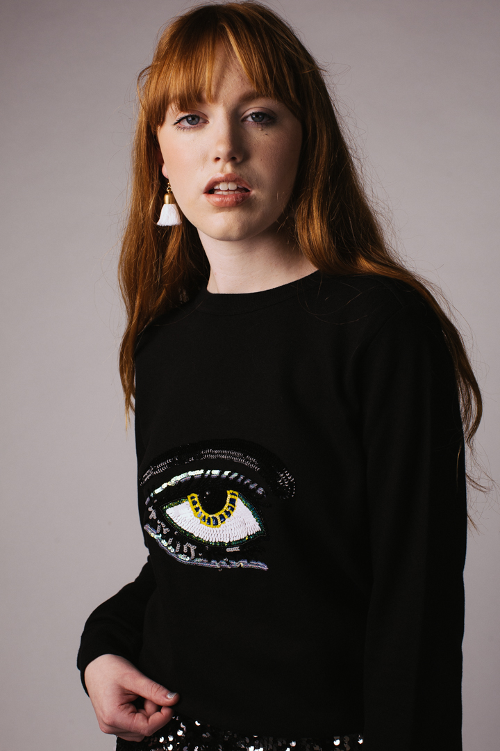 Eye Sweatshirt – Black