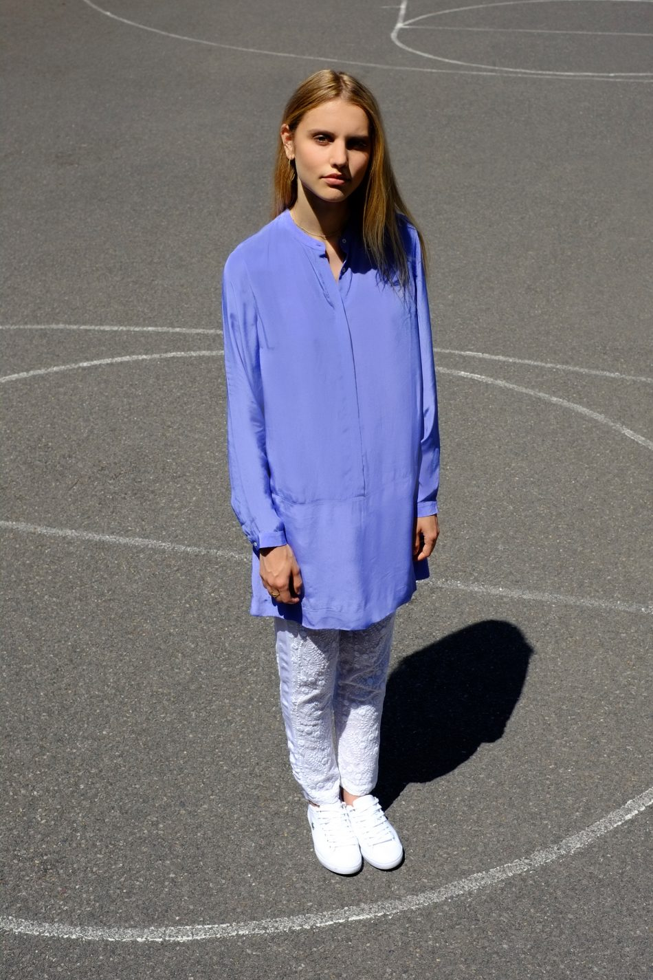 Ash Shirt Dress – Cornflower