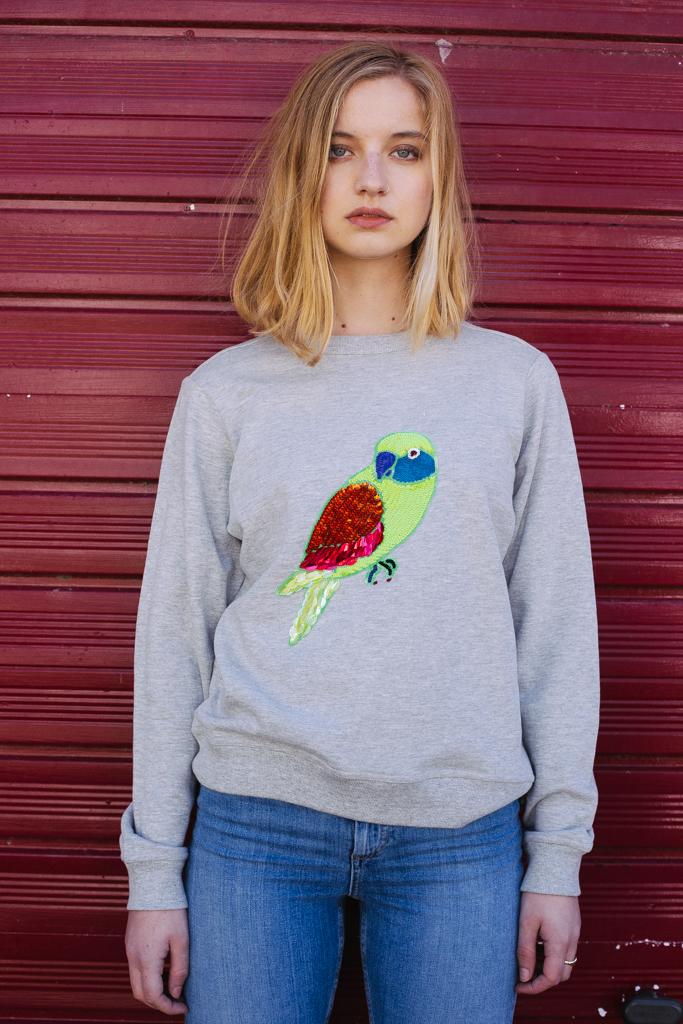 Private: Polly Sweatshirt – GREY