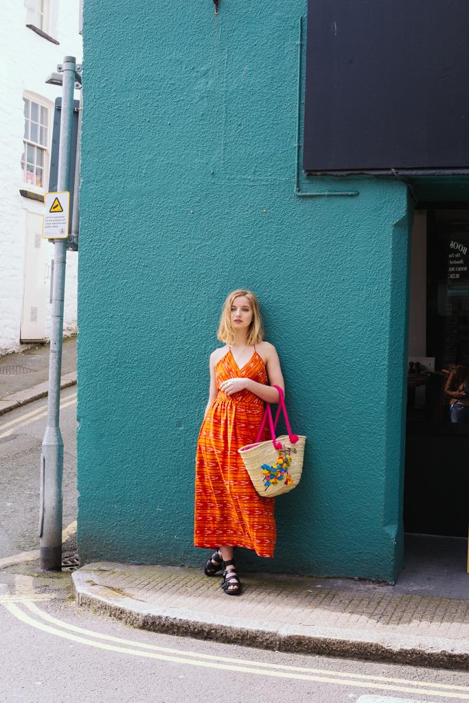 Ida Dress – Orange
