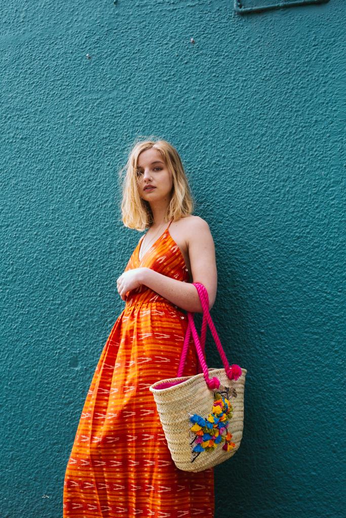 Ida Dress - Orange