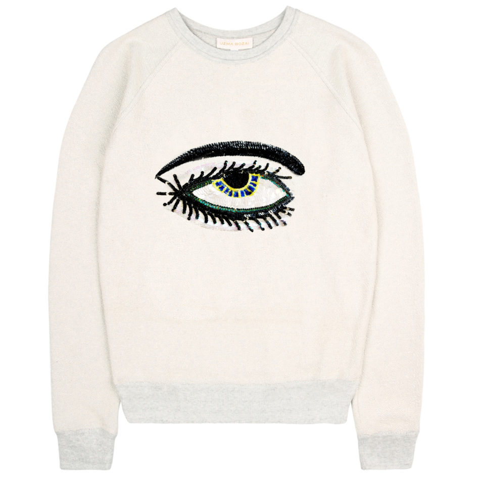 Eye Sweatshirt - Ecru