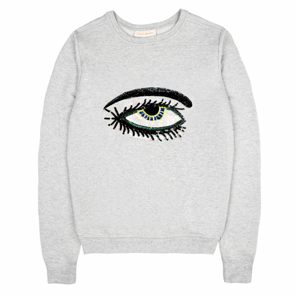 Eye Sweatshirt - Grey