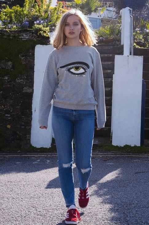 Eye Sweatshirt – Mini & Me
