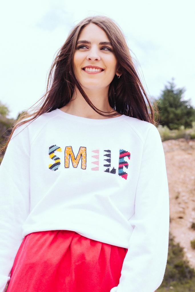 SMILE – White