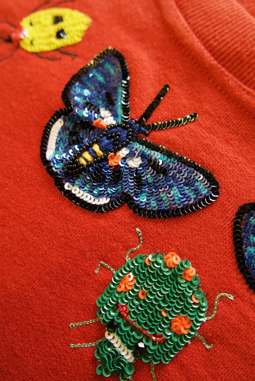 Helena Sweatshirt – Scarlet