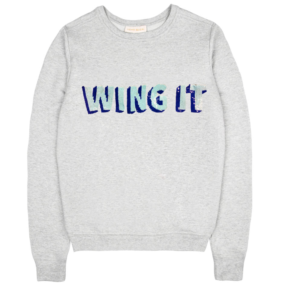 Wing It Sweatshirt - Grey