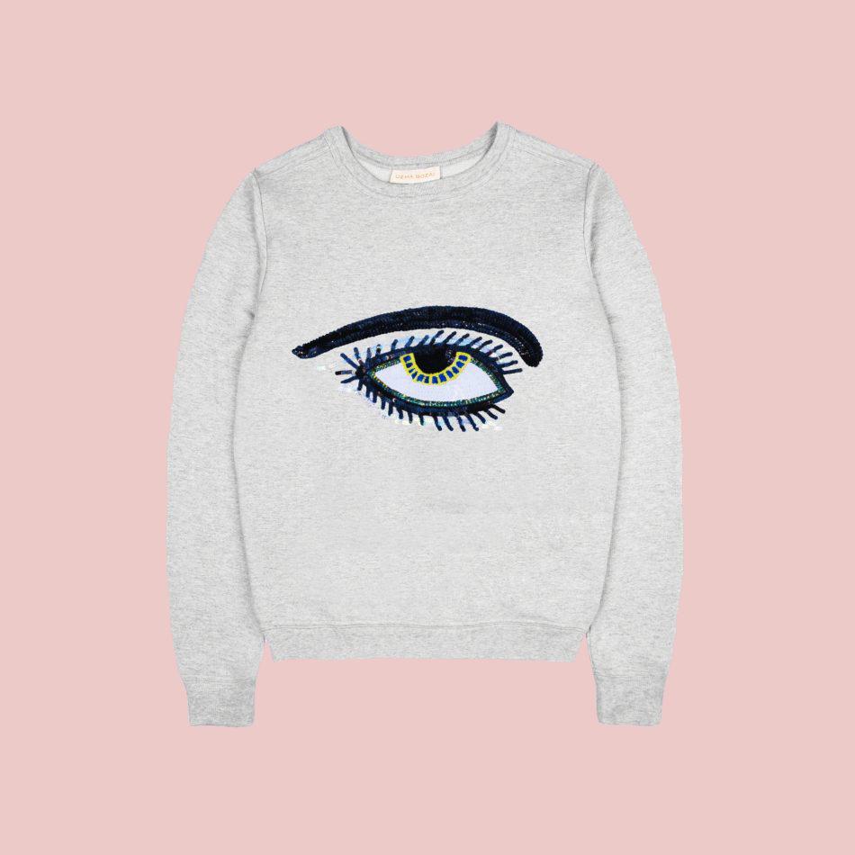 Kids Eye Sweatshirt - Mini & Me