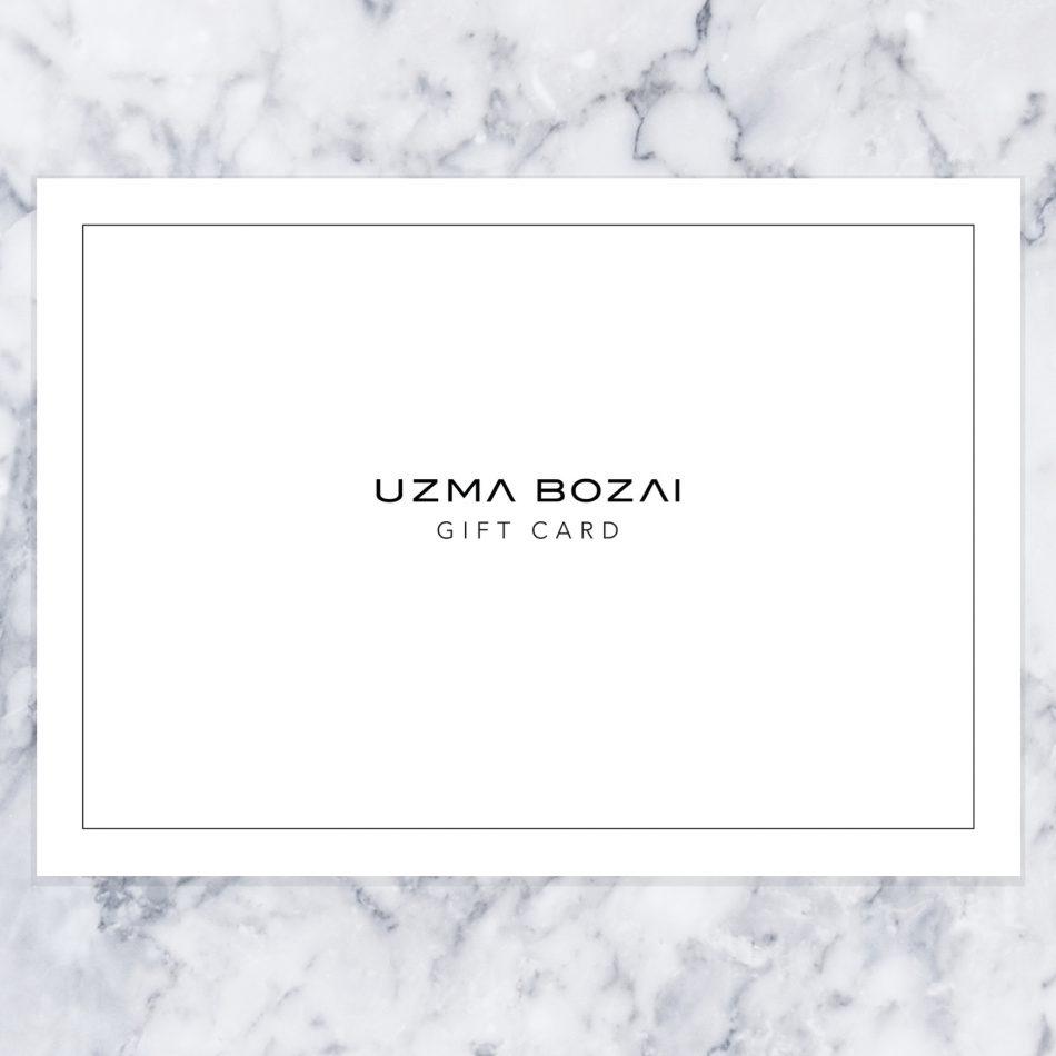 Uzma Bozai Gift Card