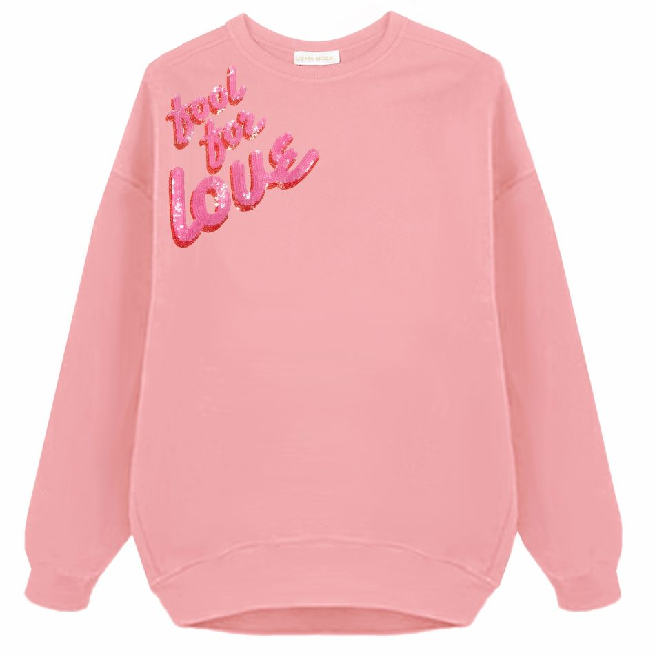 FOOL FOR LOVE Oversized Sweatshirt