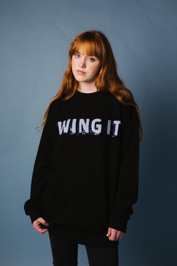 Wing It Oversized Sweatshirt