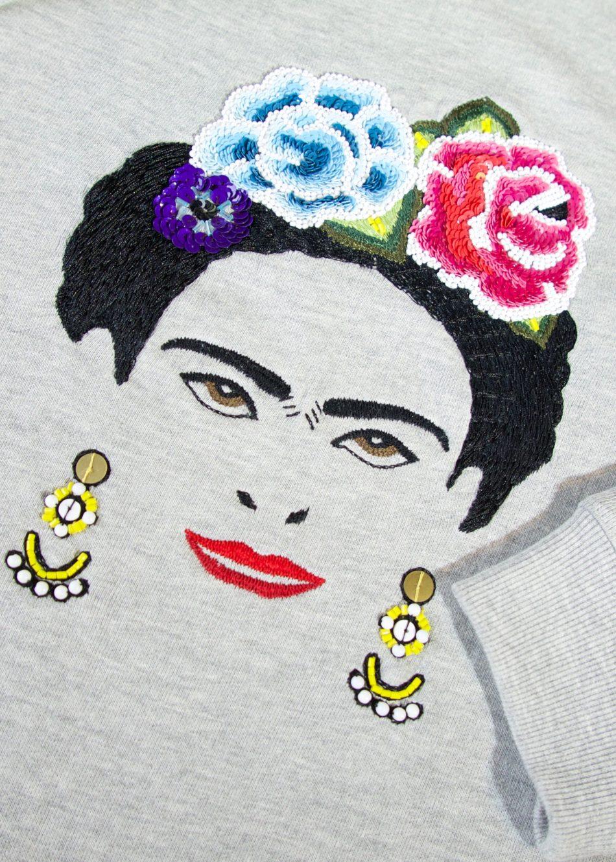Private: Frida Sweatshirt-Grey-New Season