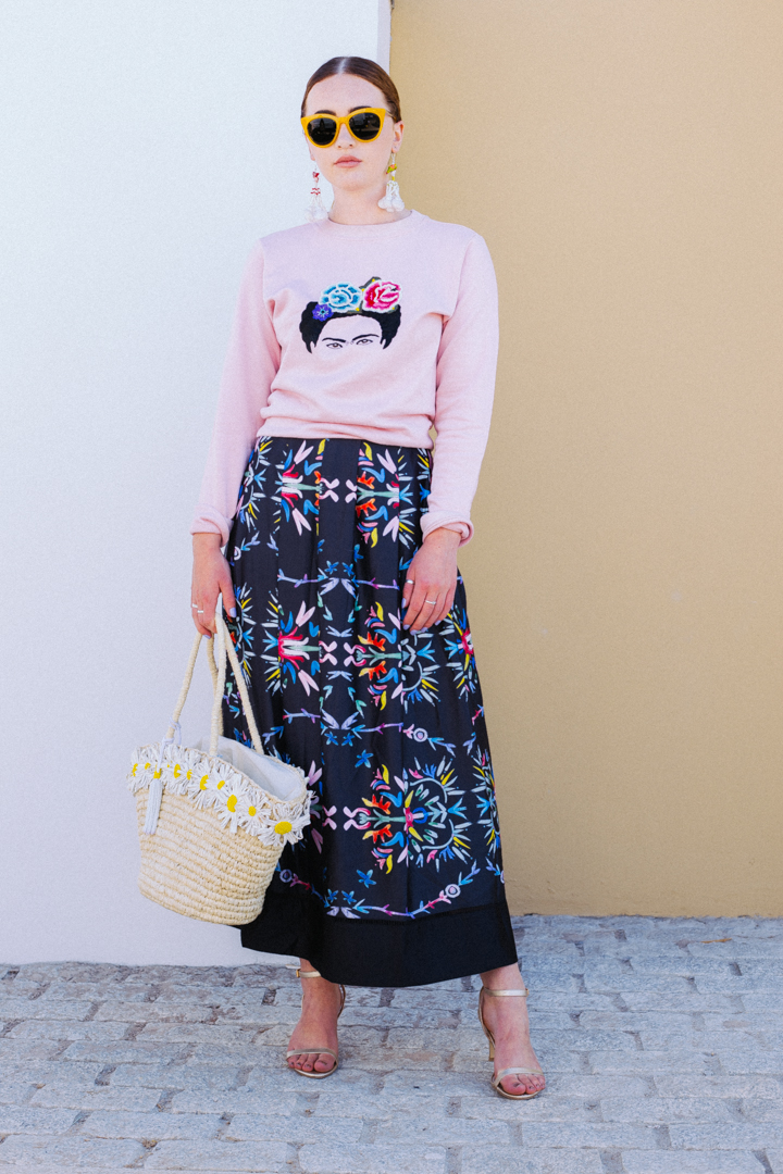 Frida Sweatshirt – Pink