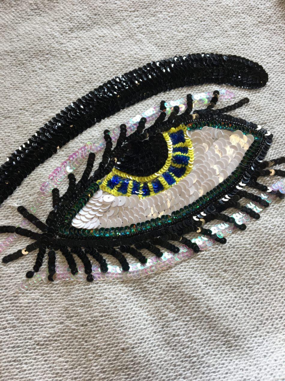 Eye Sweatshirt – Ecru