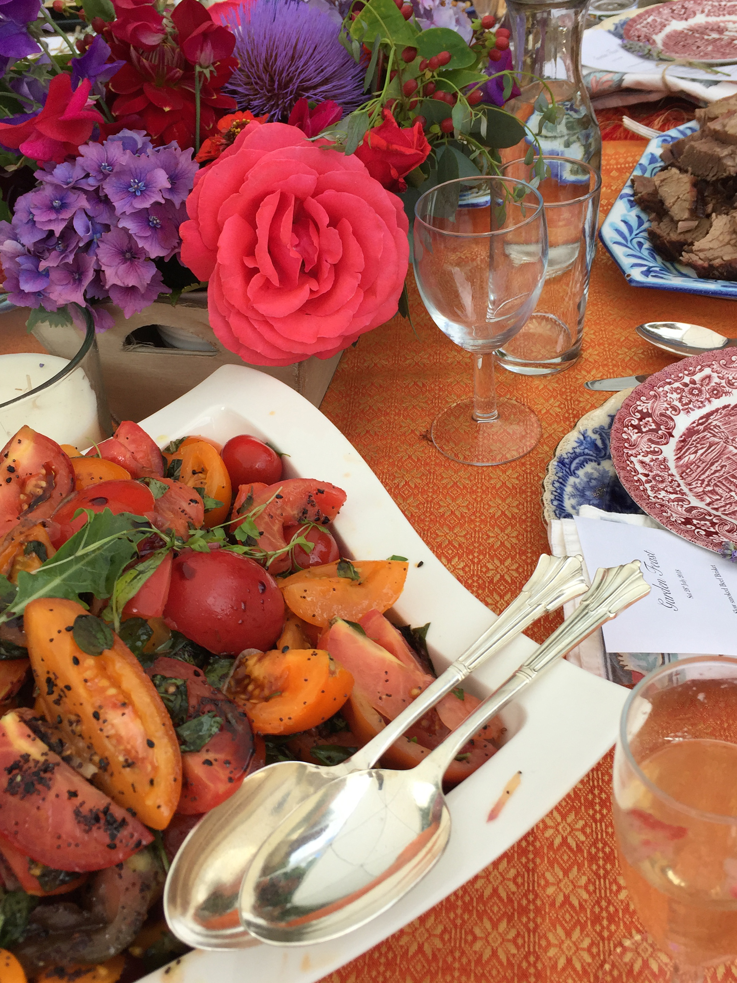 Uzma Bozai's top tips for creating an unforgettable garden party this bank holiday weekend.