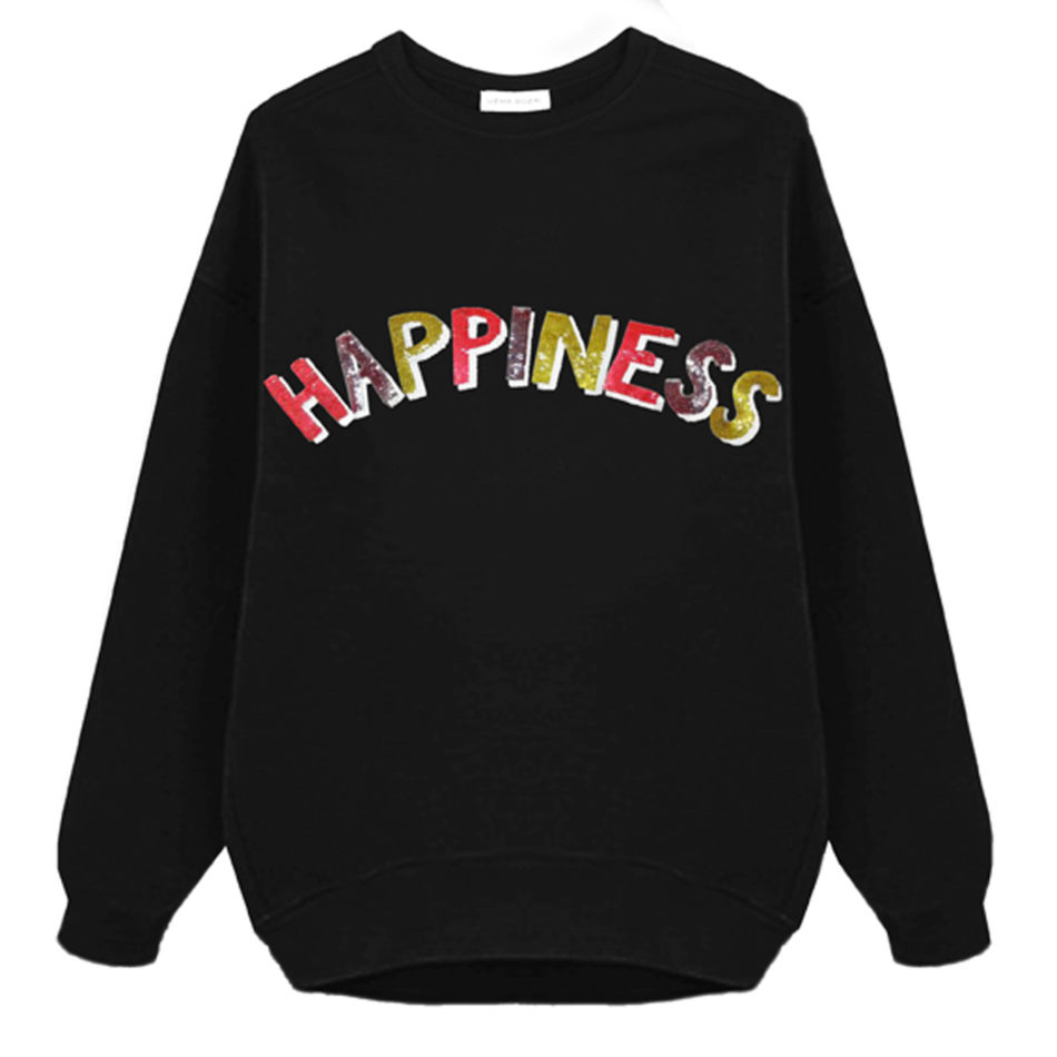 Happiness Oversized Sweatshirt - Unisex