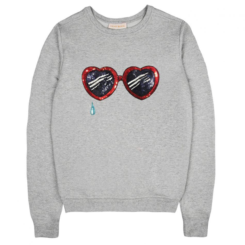 Lolita Sweatshirt - Grey