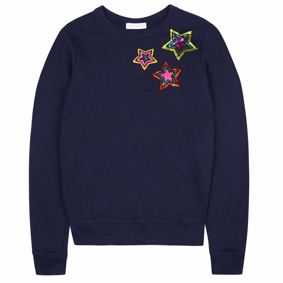 Uzma Bozai's Renee Sweatshirt in Navy