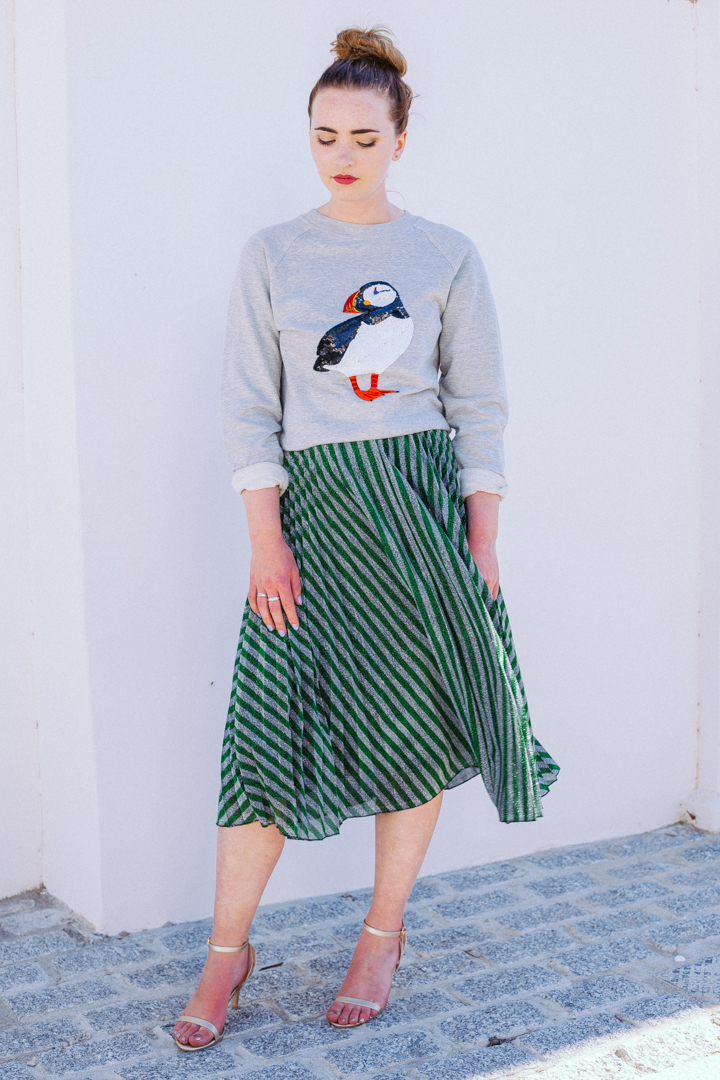 Uzma Bozai Pepper Puffin Sweatshirt