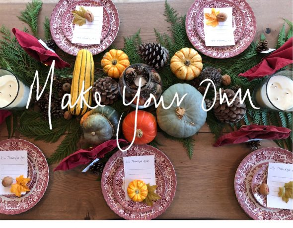 Design your Thanksgiving table with Uzma Bozai