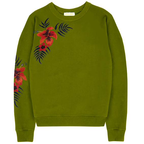 Uzma Bozai's Hibbie Sweatshirt