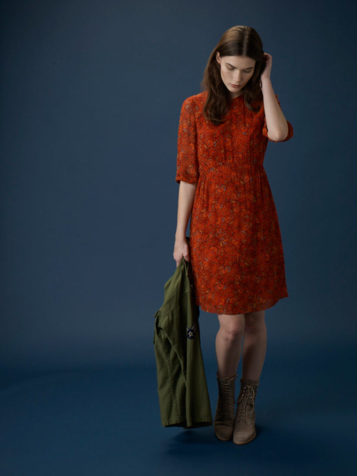 Miriam Dress, Orange