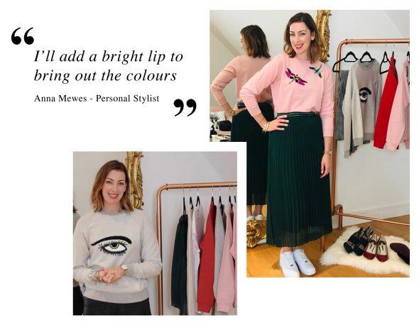 Anna Mewes Personal Stylist wears Uzma Bozai