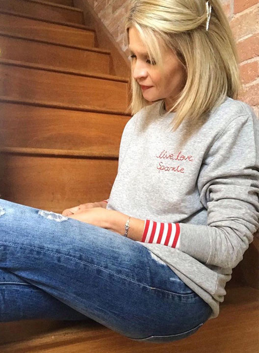 What's Your Mantra? Say It On A Personalised Embroidered Sweatshirt