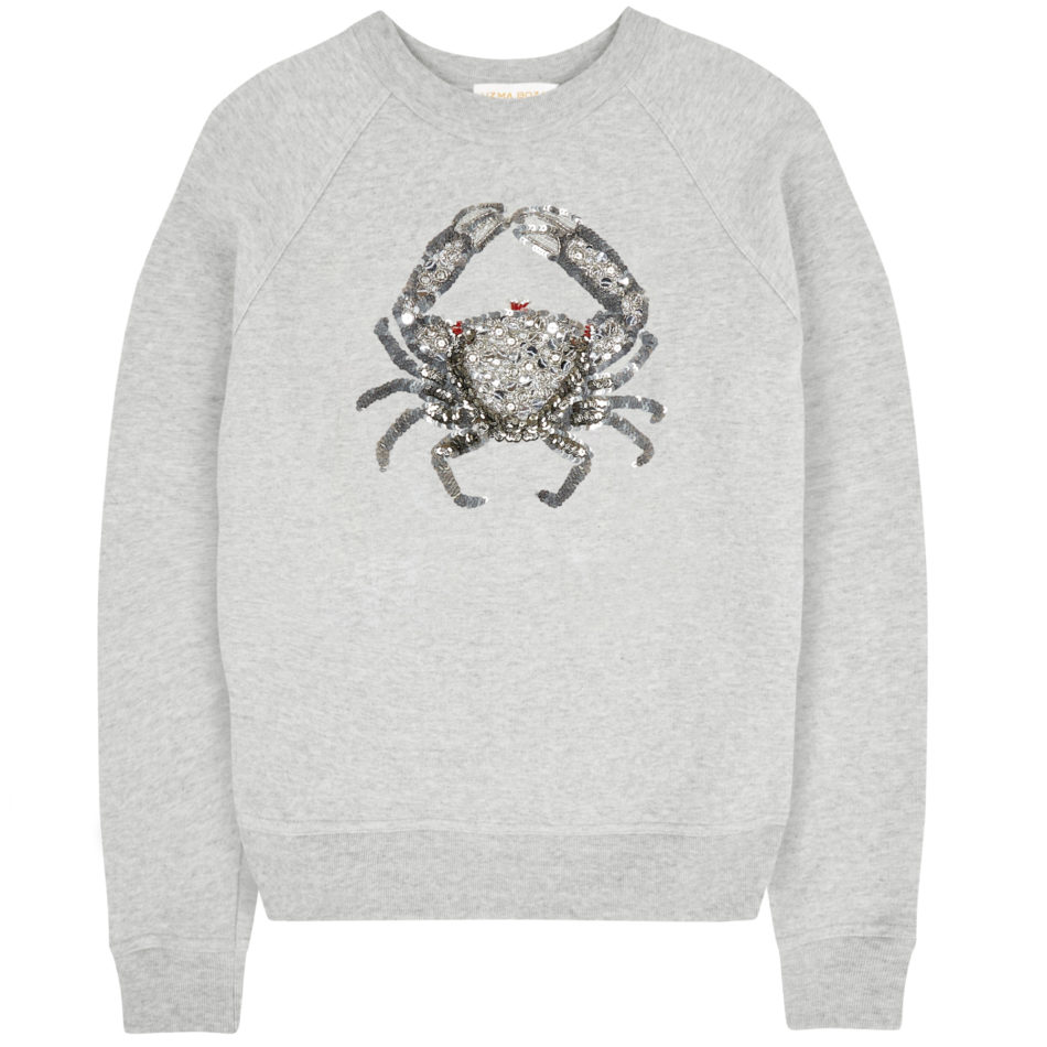 Cora Crab Sweatshirt - Grey